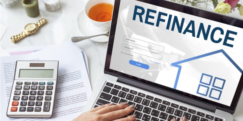 Online application for refinance