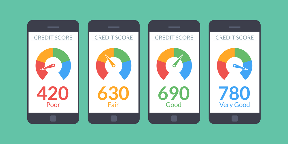 What is considered good credit score?
